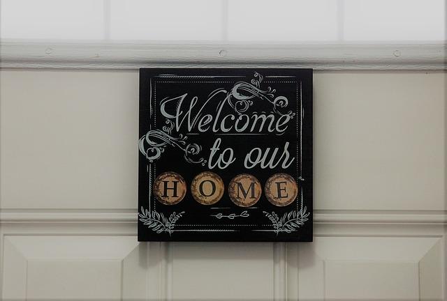 שלטים מעוצבים לבית