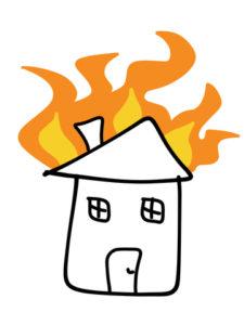 איך משקמים חדר שנשרף