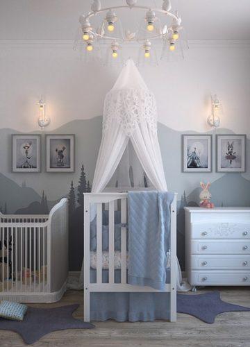 רעיונות לתמונות לחדרי תינוקות