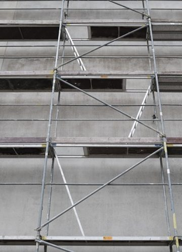 חשיבות השימוש בפיגומים במהלך בנייה